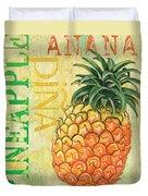 Froyo Pineapple Duvet Cover by Debbie DeWitt