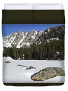 Frozen Colorado  Duvet Cover