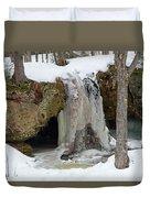 Frozen Fall Duvet Cover