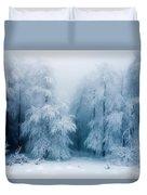Frozen Forest Duvet Cover