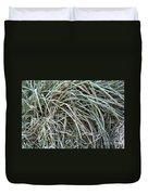 Frozen Grass - Ground Frost Duvet Cover