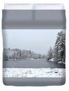 Frozen Lake 1 Duvet Cover
