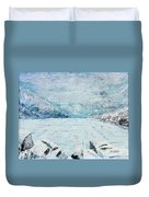 Frozen Lake Duvet Cover