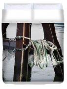 Frozen Ropes Duvet Cover