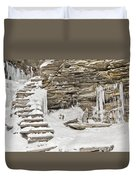 Frozen Stairs Duvet Cover