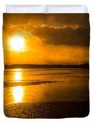Frozen Sunset Duvet Cover
