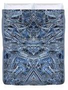 Frozen Symmetry Duvet Cover