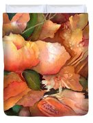 Fruit And Flowers Duvet Cover