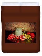 Fruit And Pitcher Duvet Cover