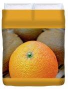 Fruit Basket. Orange. Duvet Cover