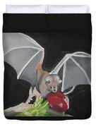 Fruit Bat Duvet Cover
