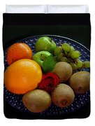 Fruit Dish Duvet Cover