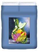 Fruit Dragon Duvet Cover