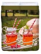 Fruit Drinks Duvet Cover