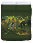 Fruit Gathering Duvet Cover