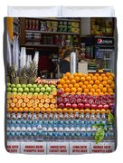 Fruit Just Stand Duvet Cover