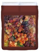 Fruit Of The Vine Duvet Cover by Barbara Berney
