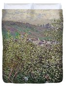 Fruit Pickers Duvet Cover