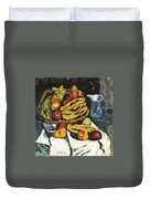 Fruit Still Life By Marsden Hartley Duvet Cover