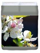 Fruit Tree Blossom Duvet Cover