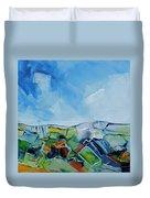 Fruitgum Landscape Duvet Cover