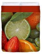 Fruitmix Duvet Cover