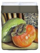 Fruits Of Autumn Duvet Cover