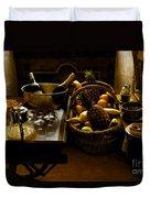 Fruits Of France Duvet Cover