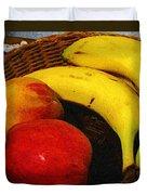 Frutta Rustica Duvet Cover