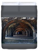 Ft. Pickens Arches Duvet Cover