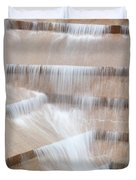 Ft Worth Water Gardens Duvet Cover