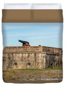 Ft. Pickens Gulf Islands National Seashore Duvet Cover