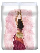 Fuchsia Duvet Cover by Brandy Woods
