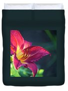 Fuchsia Glow Duvet Cover