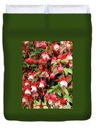 Fuchsia Pastel Duvet Cover