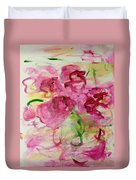 Fucia Kisses Duvet Cover