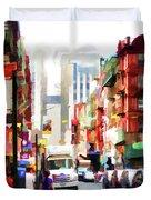 Fujianese Neighborhood Duvet Cover