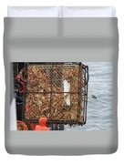 Full Crab Pot Duvet Cover