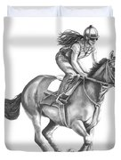 Full Gallop Duvet Cover