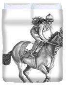 Full Gallop Duvet Cover
