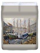 Full House By Prankearts Fine Art Duvet Cover