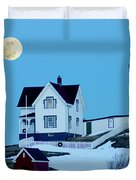 Full Moon Nubble Duvet Cover