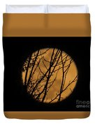 Full Moon Through The Branches Duvet Cover