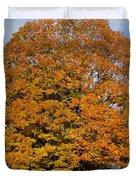 Full On Orange Duvet Cover