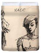 Fun At Art Of Fashion At Nacc 1 Duvet Cover