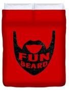 Fun Beard Duvet Cover