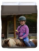 Fun On A Pony Duvet Cover