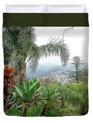 Funchal Maderia Duvet Cover