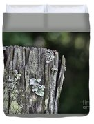 Fungi Green Duvet Cover