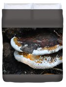 Fungi In Dew Duvet Cover
